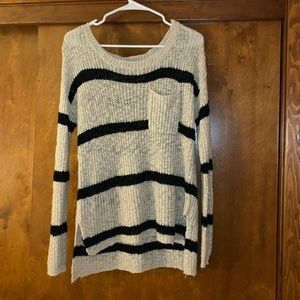 Charolette Rousse stripped sweater.